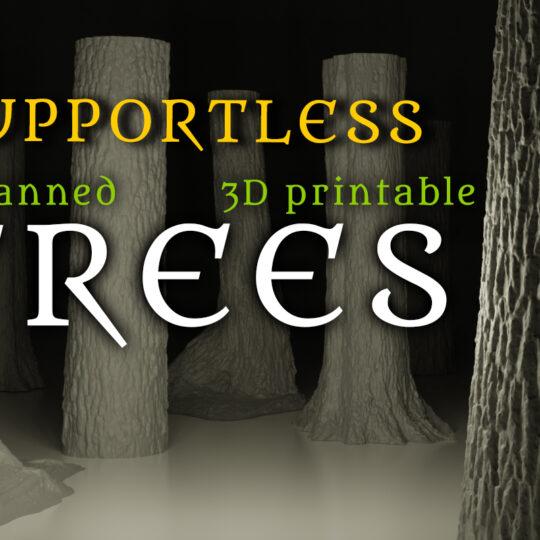 Tabletop Forest Kickstarter STL Set