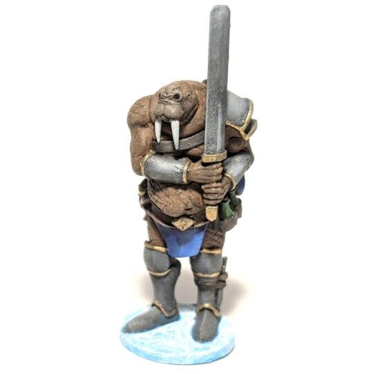 "Walrus Man ""Rus Blubber"" (.stl)"