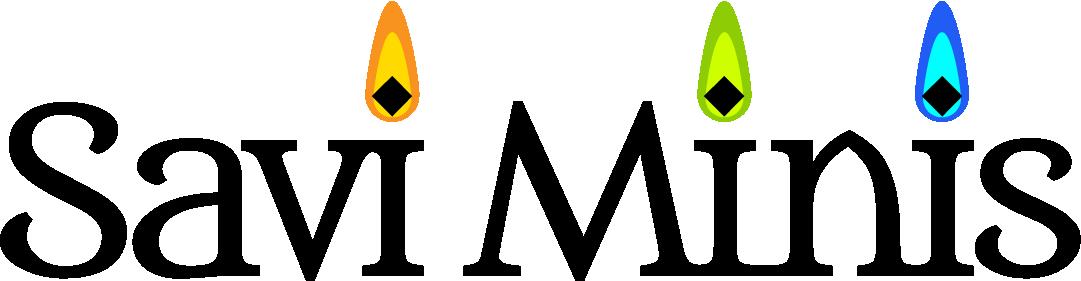 Savi Minis Text Logo
